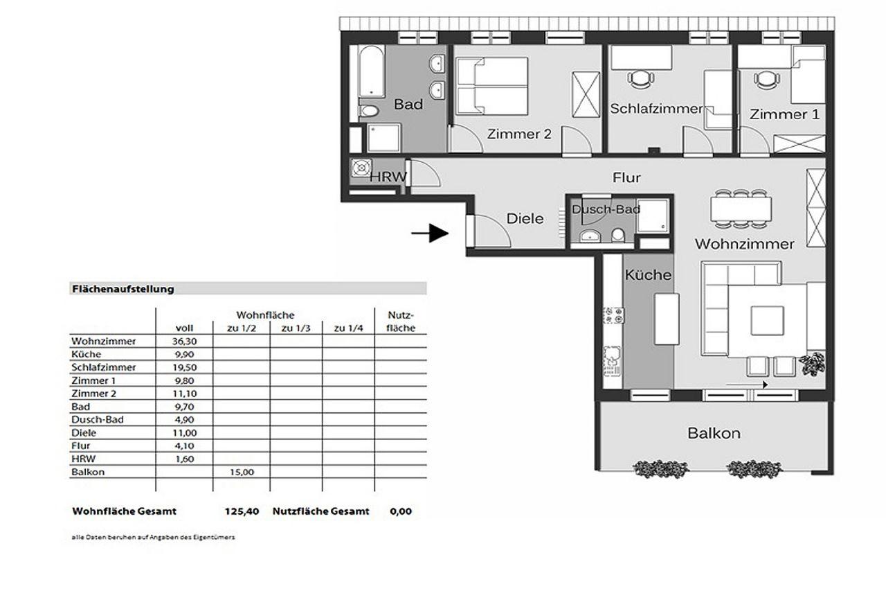wohnung zur miete in frankfurt bahnhofsviertel aigner. Black Bedroom Furniture Sets. Home Design Ideas